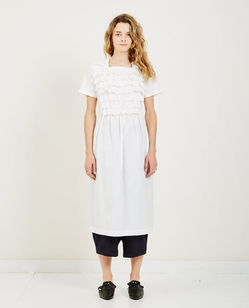 COMME DES GARÇONS GIRL COTTON BROAD DRESS
