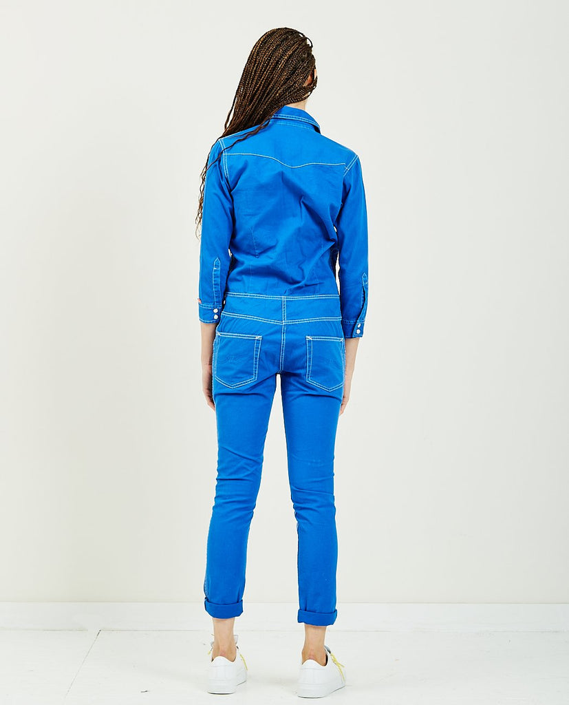 DENIMIST-Cowboy Jumpsuit Royal Blue-All-In-One-{option1]