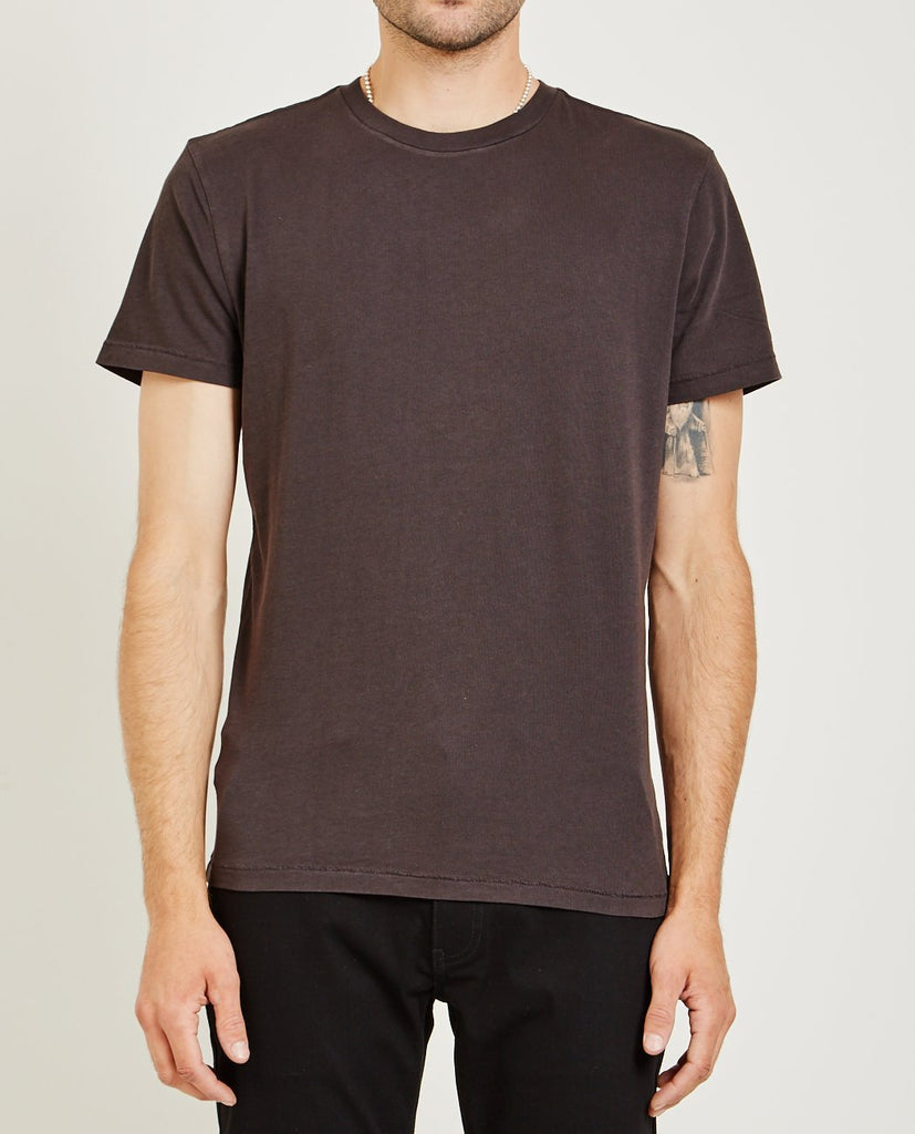CREW NECK JERSEY TEE CHARCOAL-AR321-American Rag Cie