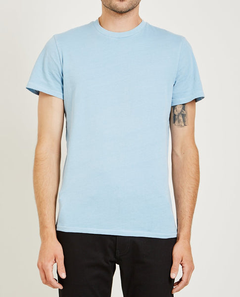 AR321 Crew Neck Jersey Tee Light Blue