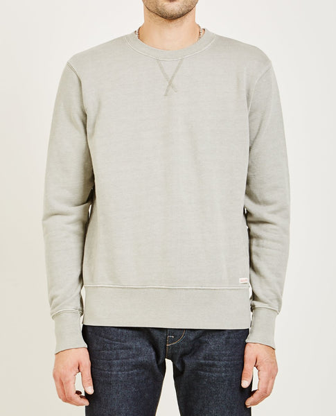 AR321 CREW NECK SWEATSHIRT (OATMEAL) CHARCOAL