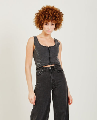 STATESIDE Cupro Tie Back Jumpsuit