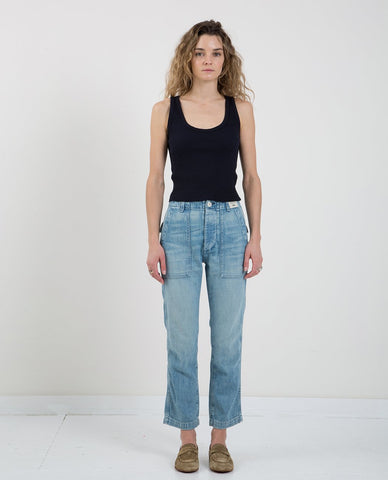 RAQUEL ALLEGRA SIGNATURE JERSEY DROP CROTCH PANT