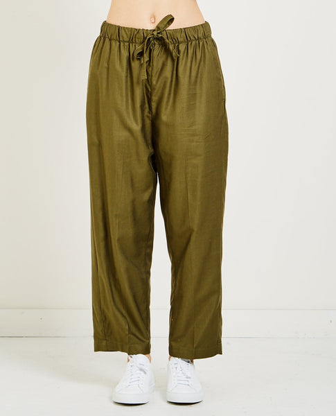 CHIMALA CROPPED DRAWSTRING PANT