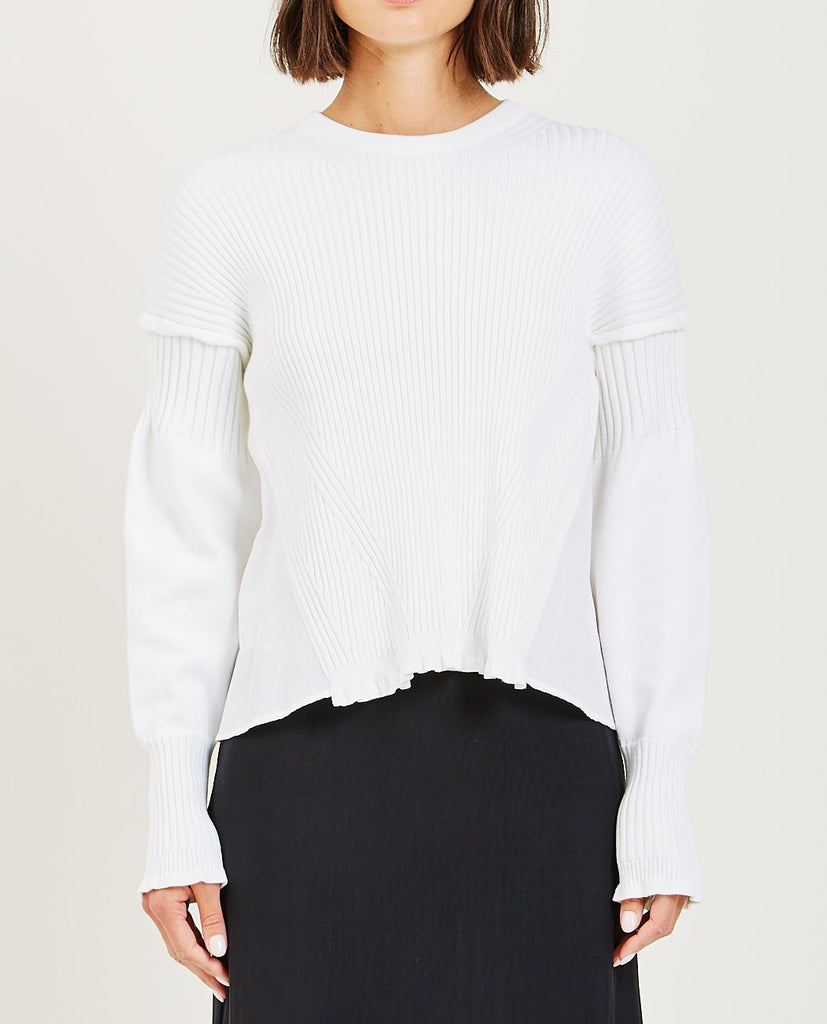 KENZO-CROPPED JUMPER-Women Sweaters + Sweatshirts-{option1]