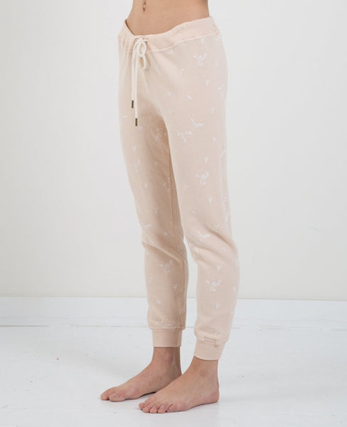 THE GREAT CROPPED SWEATPANTS- SPRIG PRNT