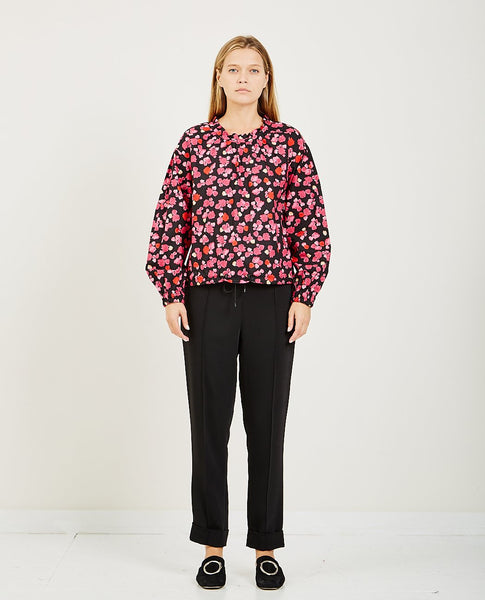 KENZO CROPPED TOP PEONIE