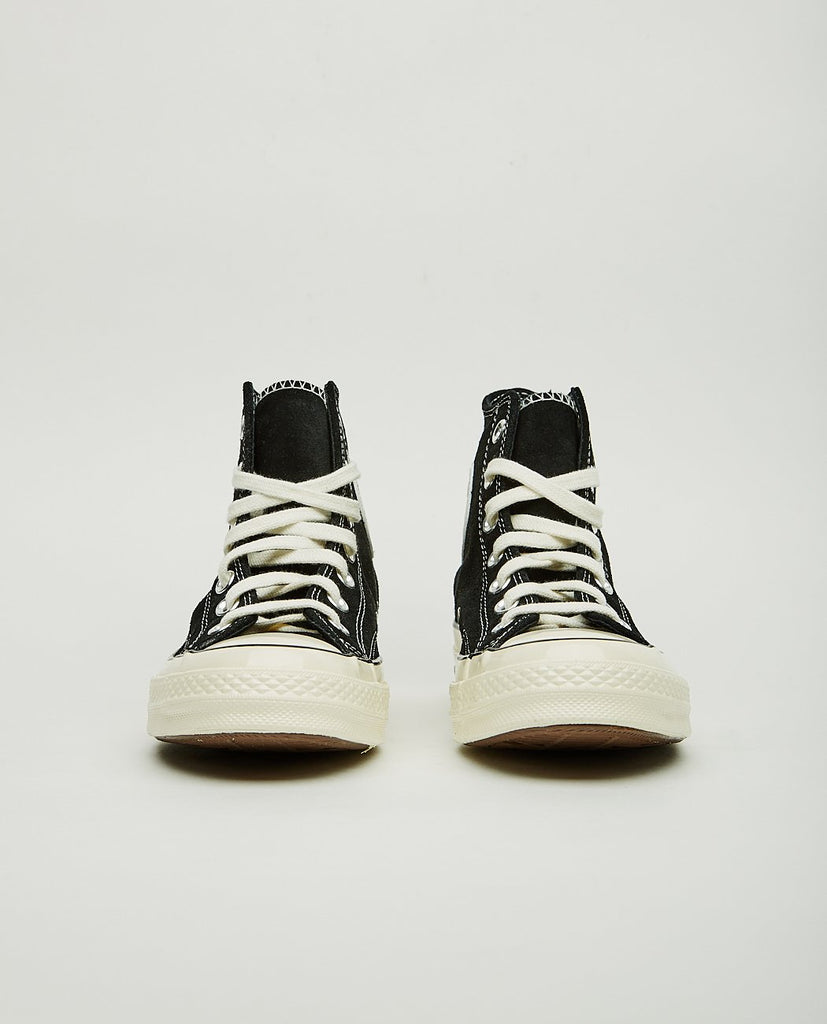 CONVERSE-CTAS '70 HIGH TOP BLACK SUEDE-Women Sneakers+ Trainers-{option1]