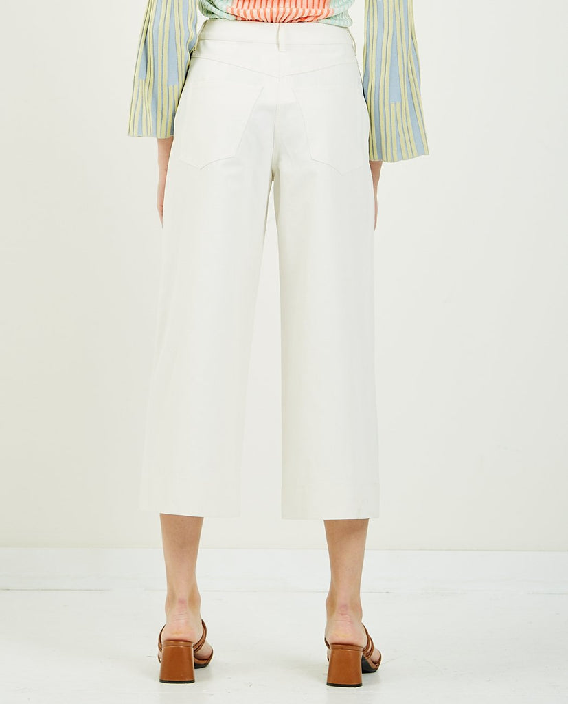 KENZO-Culotte Pant-Women Pants-{option1]