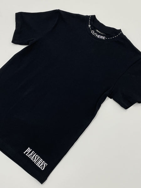PLEASURES Cut Here Tee