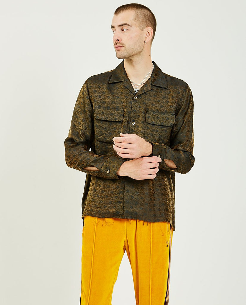 Cut-Off Bottom Classic Shirt-NEEDLES-American Rag Cie