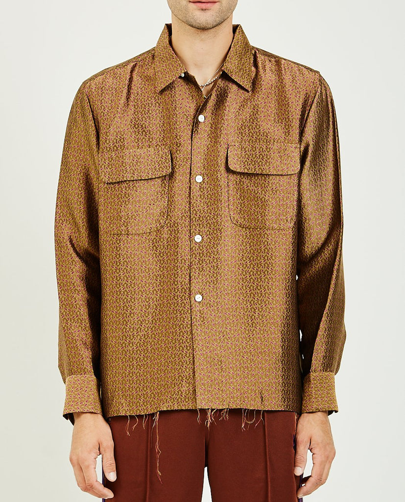 CUT-OFF HEM CLASSIC SHIRT-NEEDLES-American Rag Cie