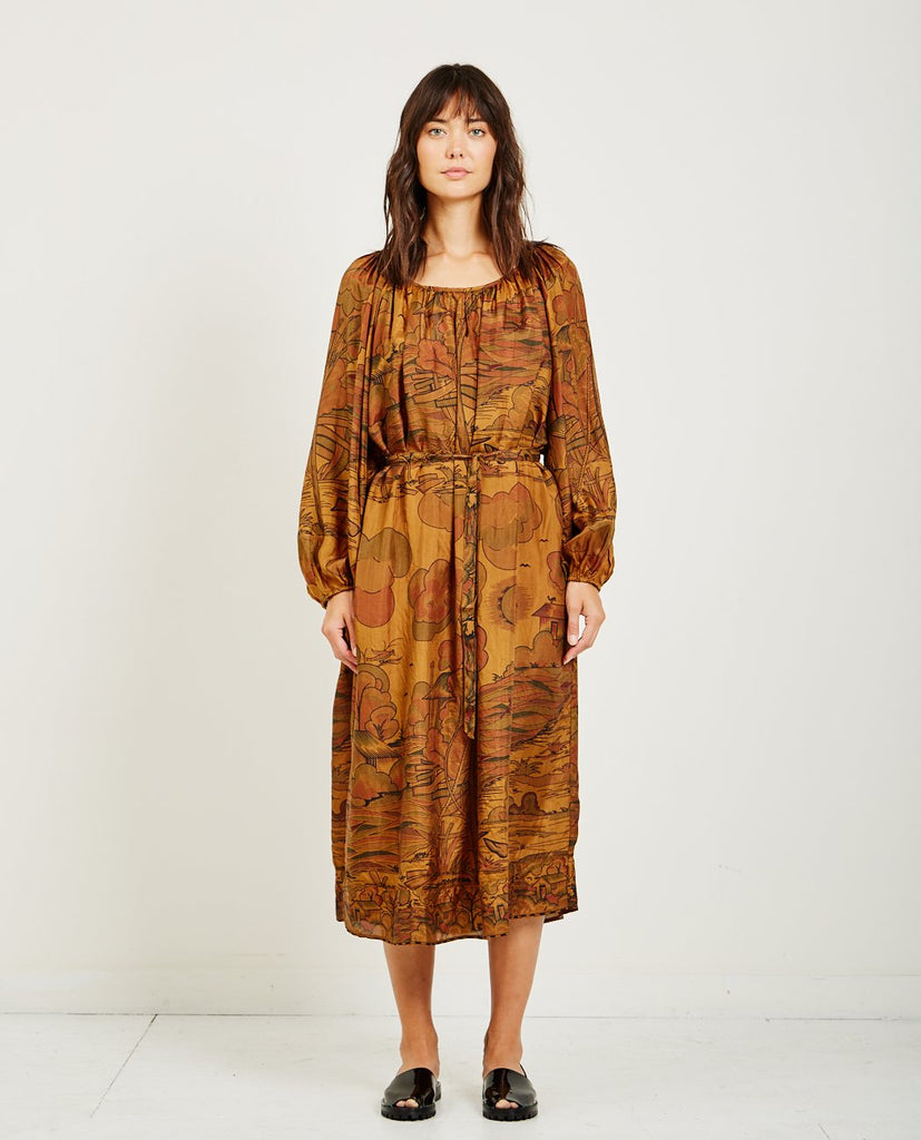 MES DEMOISELLES CYPRILLE PRINTED DRESS