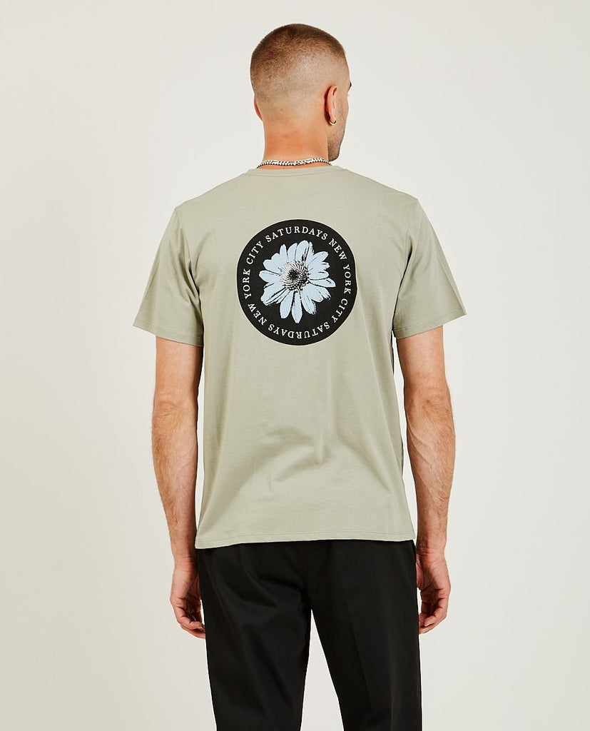 SATURDAYS NYC-Daisy Patch Tee-SUMMER20 Men Tees + Tanks-{option1]