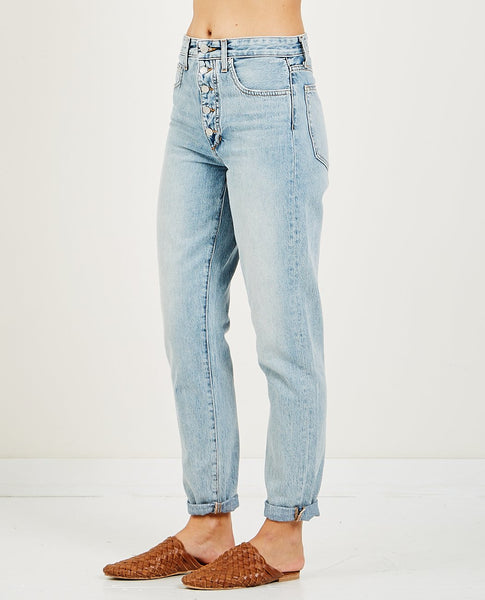 JOE'S JEANS DANIELLE HIGH RISE VINTAGE STRAIGHT LIGHT
