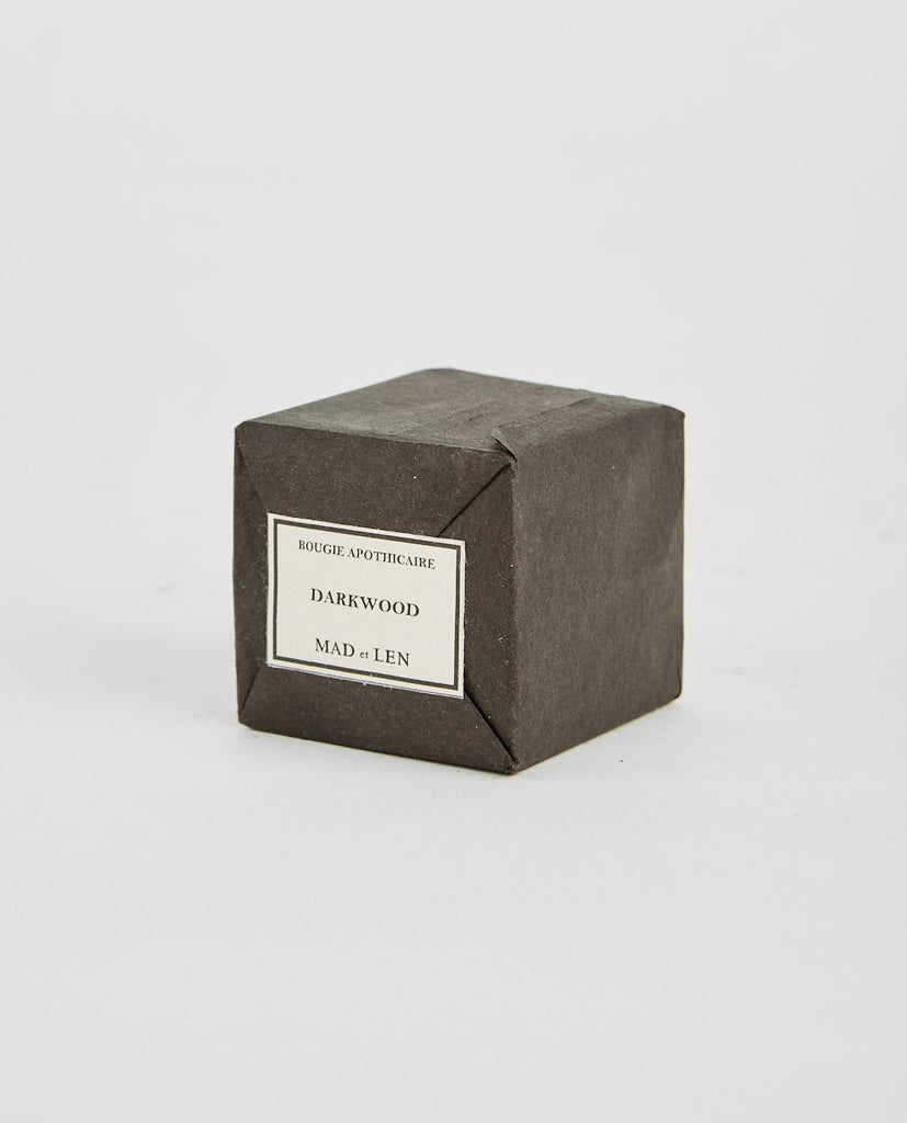MAD ET LEN-DARKWOOD BLACK BLOC CANDLE-Candles-{option1]