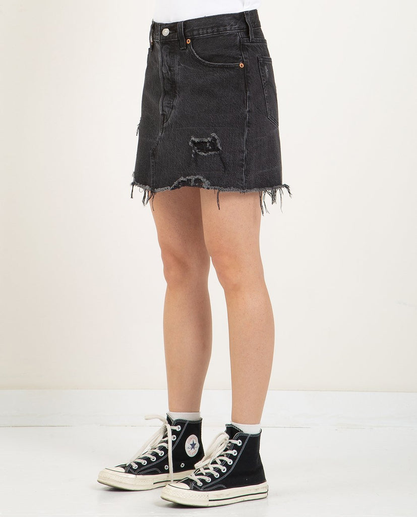LEVI'S-DECONSTRUCTED SKIRT IN GIMME DANGER-SKIRTS-{option1]