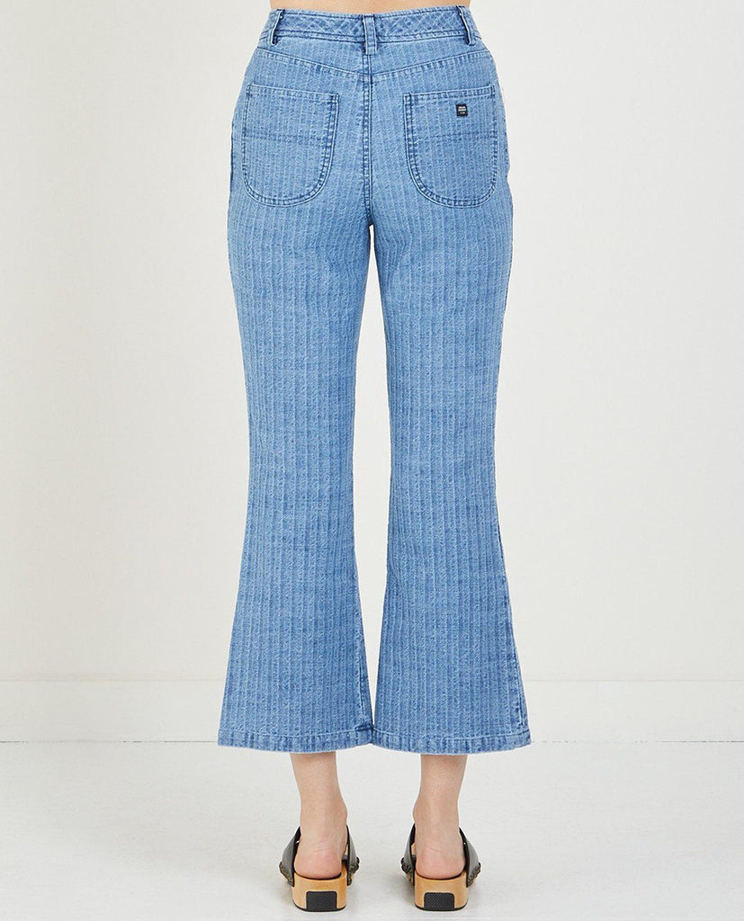 DENIM FLARE PANT-OPENING CEREMONY-American Rag Cie