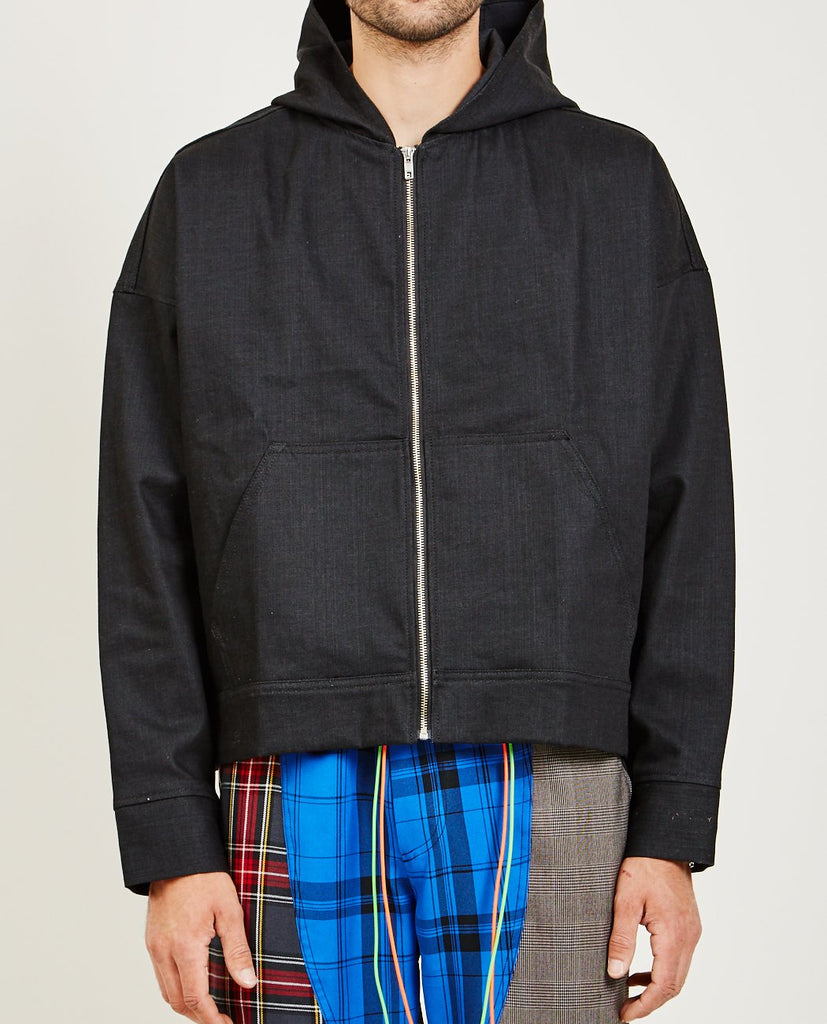 NORWOOD CHAPTERS-DENIM HOODIE-Men Sweaters + Sweatshirts-{option1]