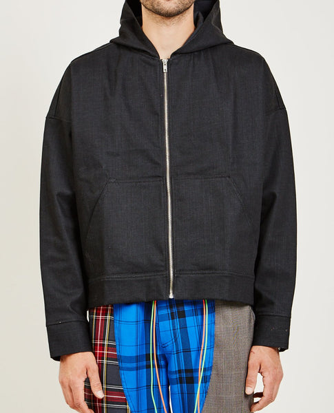 NORWOOD CHAPTERS DENIM HOODIE