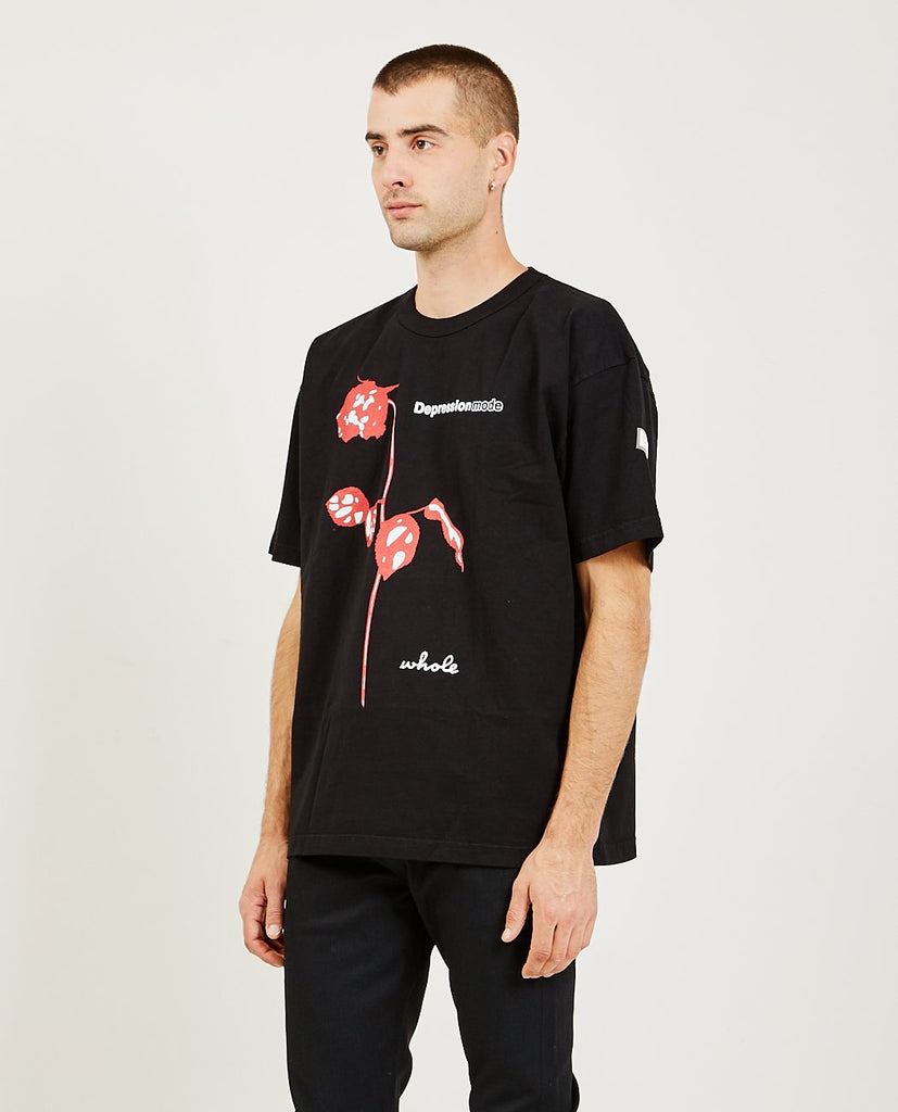 Depression Mode Tee-WHOLE MILK-American Rag Cie