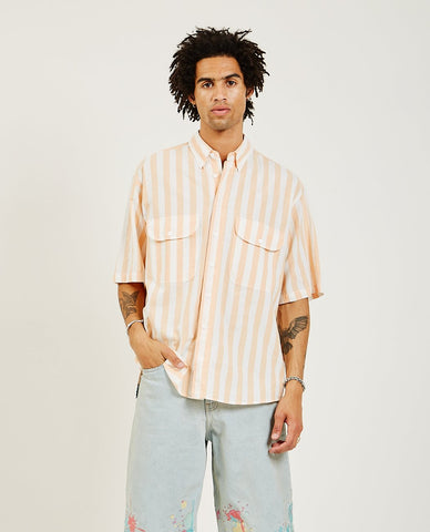 ENGINEERED GARMENTS Popover Button Down Shirt Tie Dye