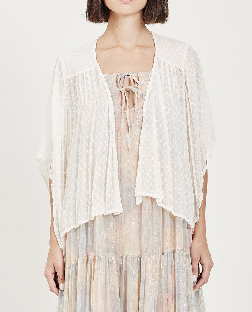 MES DEMOISELLES-DIONYSOS SWISS DOTS KIMONO-Blouses-{option1]