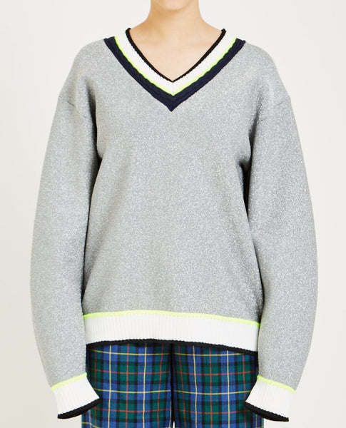 OPENING CEREMONY DISCO SPORT CABLE NECK SWEATER