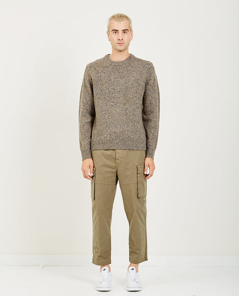 ALEX MILL DONEGAL CREW NECK SWEATER