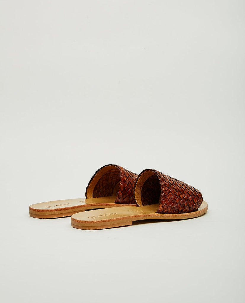 ST. AGNI-DORI WOVEN SLIDE-Women Sandals-{option1]