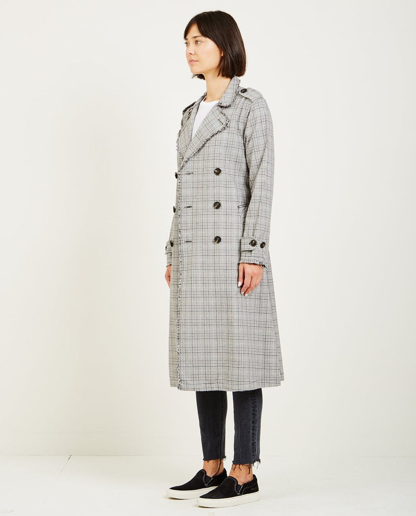 NSF-DORIAN UNLINED TRENCH COAT-Women Coats + Jackets-{option1]