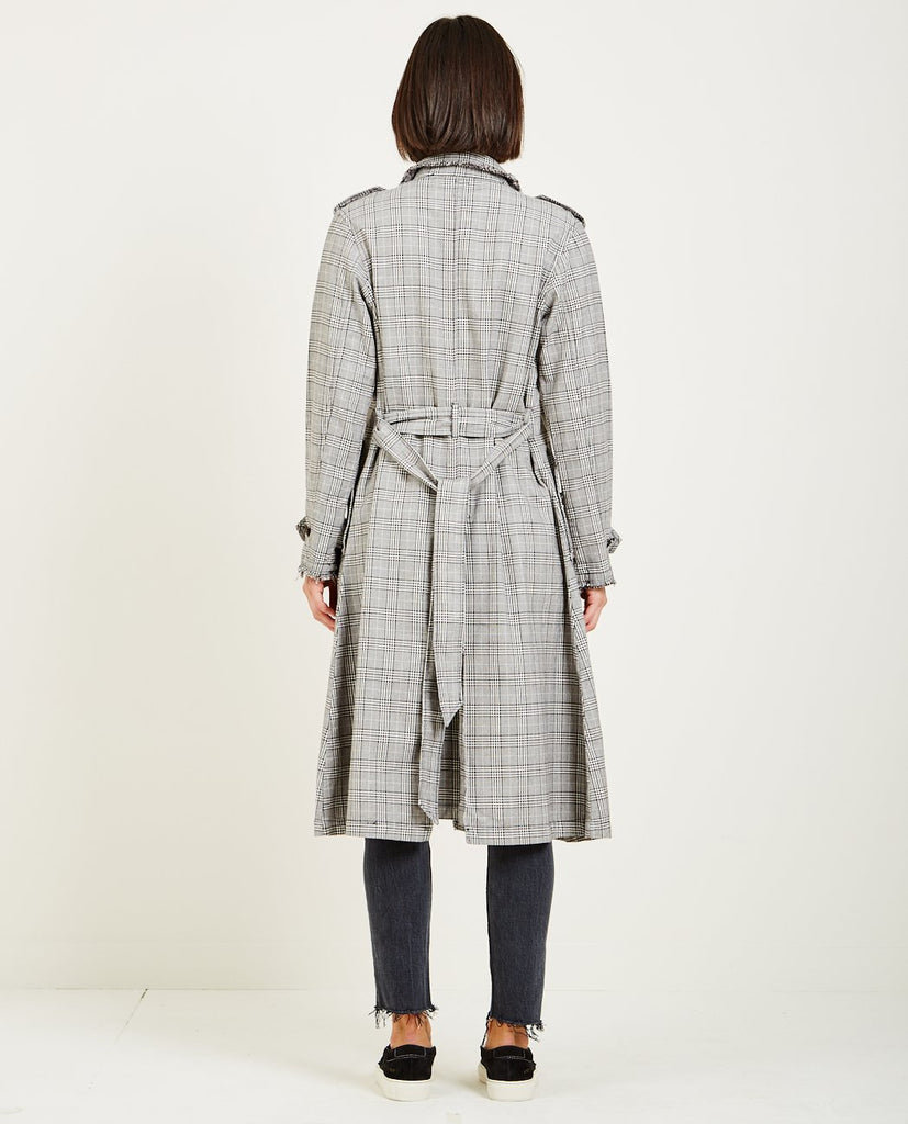 DORIAN UNLINED TRENCH COAT-NSF-American Rag Cie