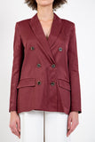 OPENING CEREMONY-DOUBLE BREASTED BLAZER-Women Coats + Jackets-{option1]