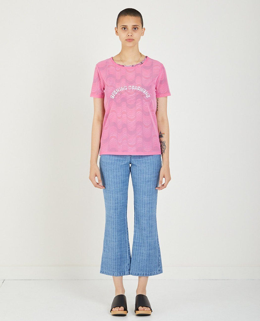 DOUBLE LAYER TEE-OPENING CEREMONY-American Rag Cie