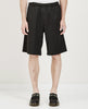 DRAPE SHORT SOLID BLACK-OUR LEGACY-American Rag Cie