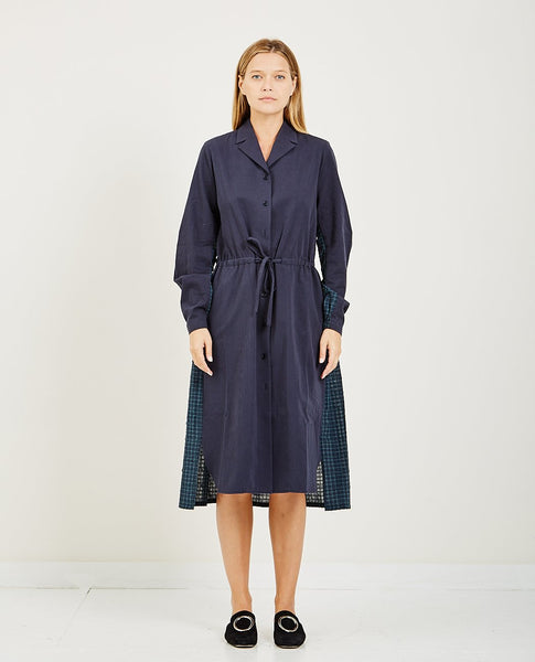 NEUL DRAWSTRING SHIRT DRESS