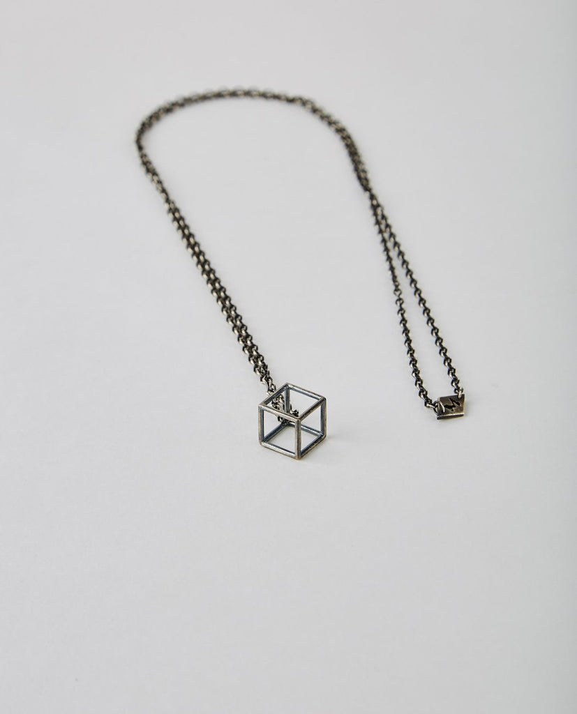 EARTH GEOMETRIC NECKLACE-M. COHEN-American Rag Cie