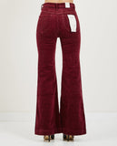 EASTCOAST FLARE BORDEAUX CORD-ROLLA'S-American Rag Cie