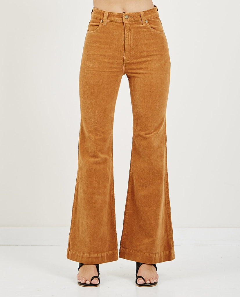 ROLLA'S-EASTCOAST FLARE TAN CORD-Women Bootcut-{option1]