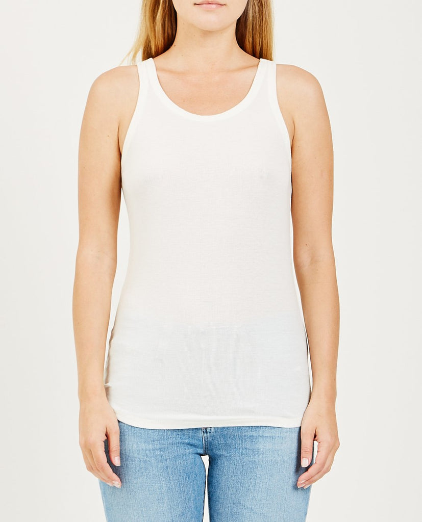 AG JEANS-EBBY TANK IVORY DUST-Women Tees + Tanks-{option1]