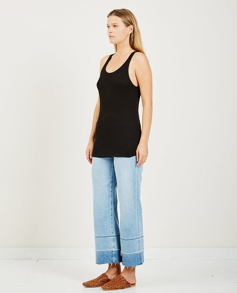 AG JEANS EBBY TANK TRUE BLACK
