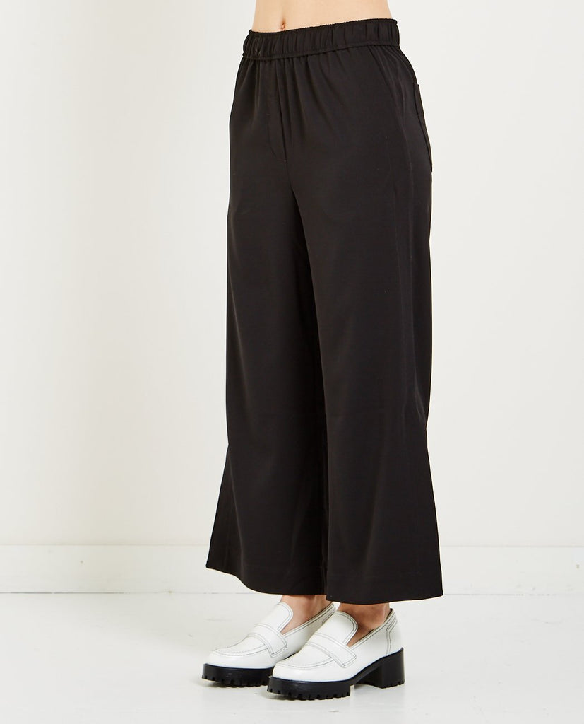 ELASTIC WAIST CROPPED TROUSER-MIJEONG PARK-American Rag Cie