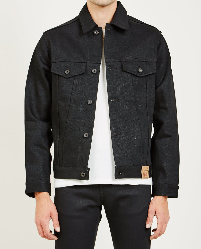 NAKED & FAMOUS-ELEPHANT 7 EL DIABLO JACKET-Men Coats + Jackets-{option1]