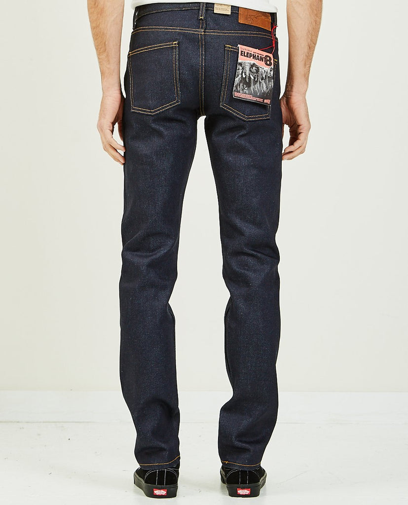 ELEPHANT 8 SOFT SELVEDGE SUPER GUY-NAKED & FAMOUS-American Rag Cie