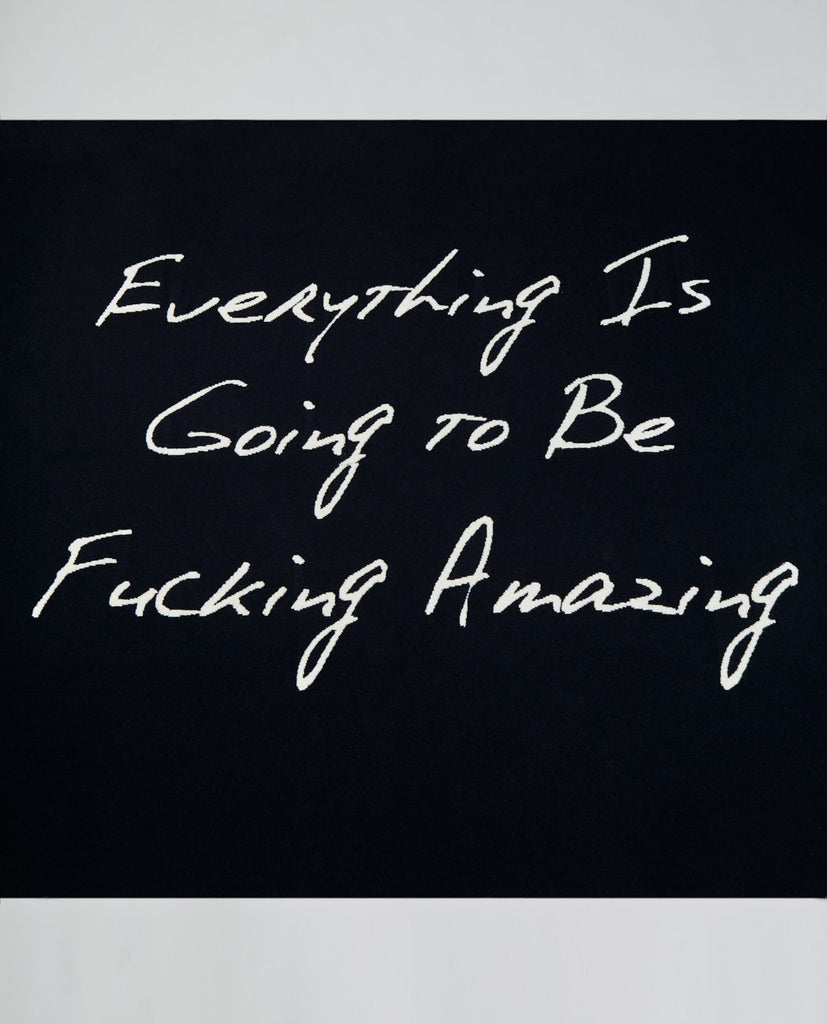 HALE HARDEN-EVERYTHING F'ING AMAZING BLANKET-Unisex Accessories-{option1]