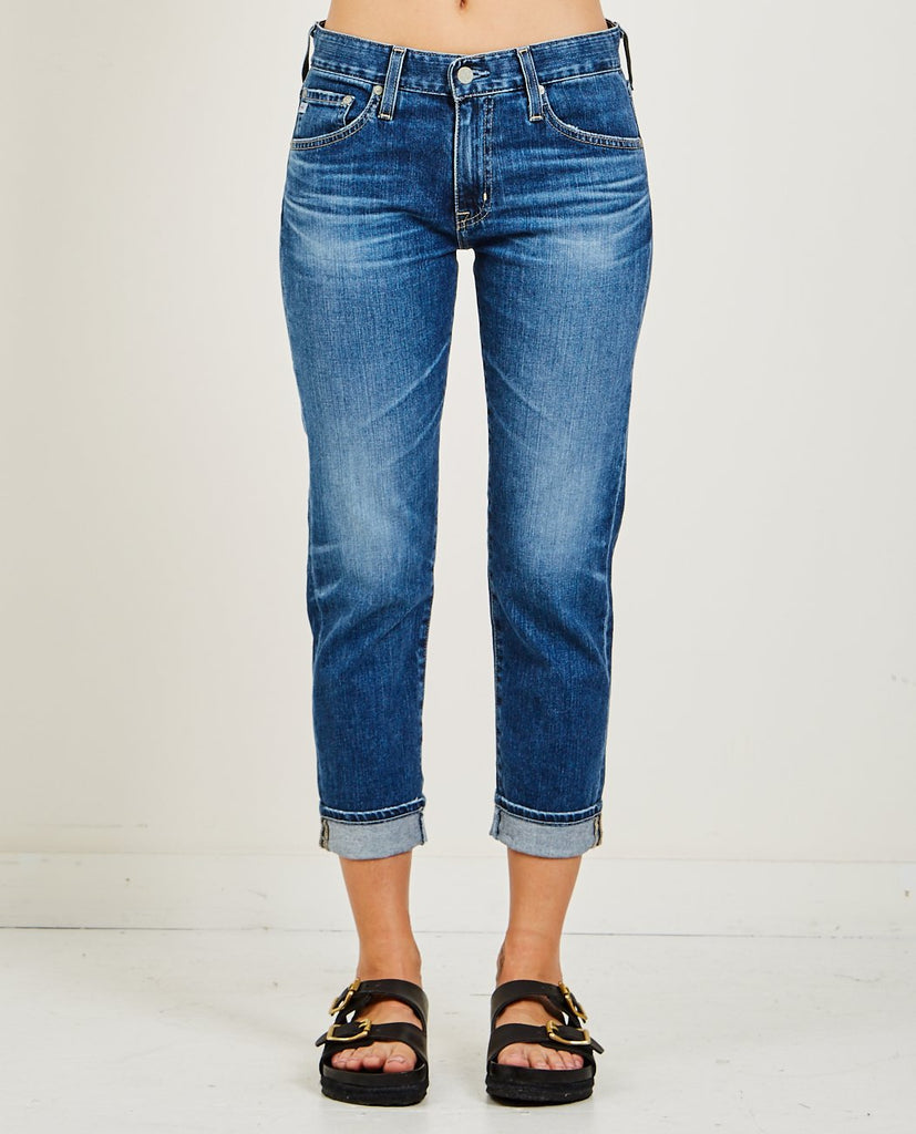 AG JEANS-EX-BOYFRIEND SLIM 18 YEARS IDC-Women Straight-{option1]
