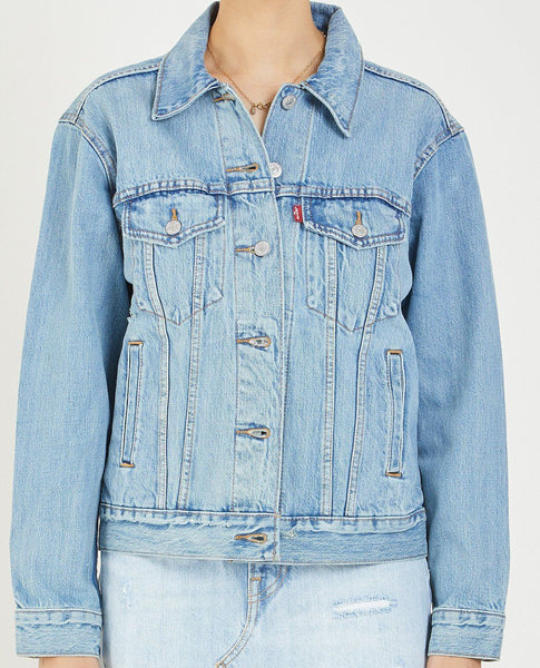 LEVI'S EX BOYFRIEND TRUCKER JACKET IN DREAM OF LIFE