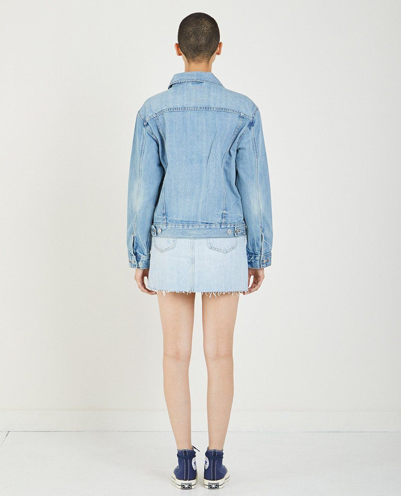 EX BOYFRIEND TRUCKER JACKET IN DREAM OF LIFE-LEVI'S-American Rag Cie