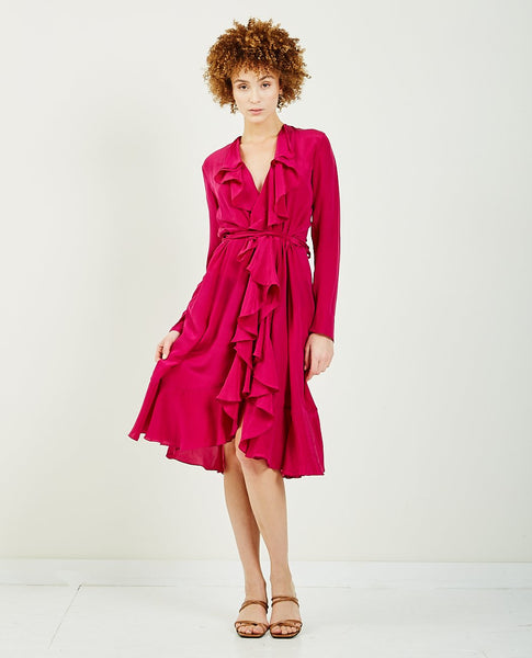 MES DEMOISELLES Exauce Wrap Dress