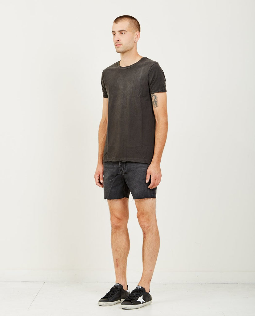 FADED TEE BACK TO BLACK-KSUBI-American Rag Cie